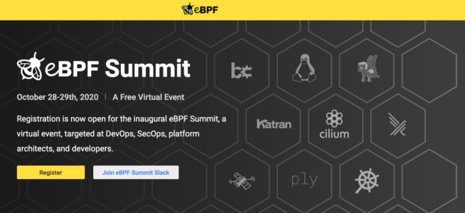 首届eBPF.io Summit 2020见闻